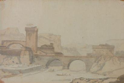 ÉCOLE FRANÇAISE de la fin du XVIIIe siècle, début du XIXe siècle