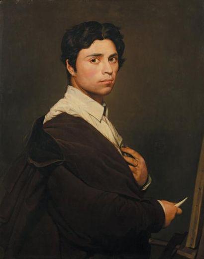 Jean-Dominique INGRES (1780-1867), entourage de
