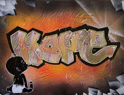 FESA NE EN 1986 HOPE - 2018 Peinture aérosol,...