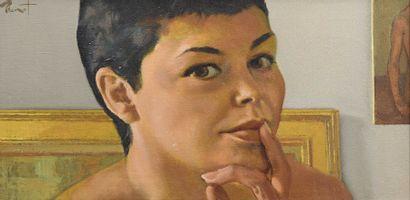 38 Pierre Laurent BRENOT (1913-1998) Portrait...