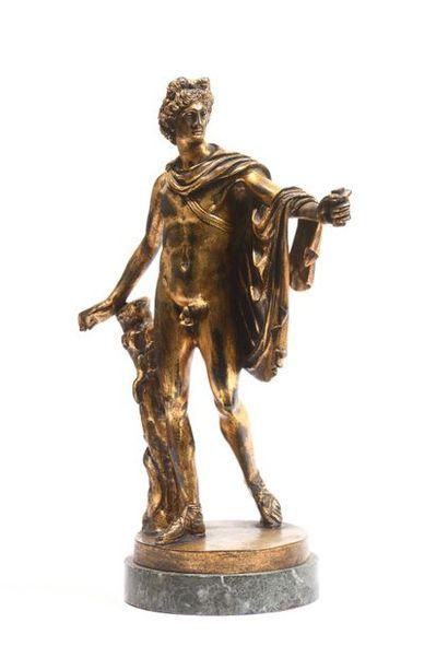 8 D'après l'antique Apollon du Belvédère...