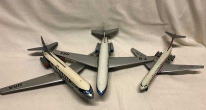 Jouet MONT BLANC – JOUSTRA: trois avions...