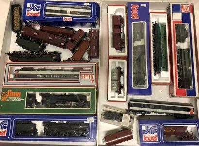 JOUEF – LIMA«HO» : matériel ferroviaire...