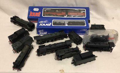 JOUEF : dix locomotives dont 141 R – 140...
