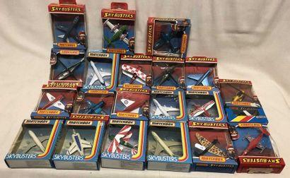 MATCHBOX: lot d'avions divers, dont avions...