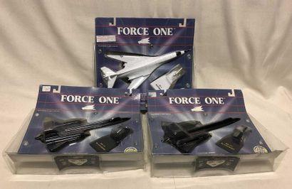 REVELL – ERTL – FORCE ONE: lot d'avions...