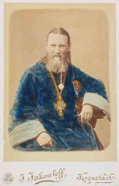 Portrait de Saint Jean de Cronstadt. Vers...