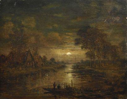 16 Aert van der NEER (Amsterdam, 1603-1677),...