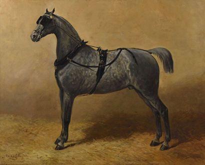 30 Théodore LAFITTE (1818-1875) Cheval avec...