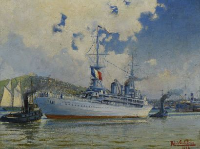 39 Roberto CASTELLANOS (1871-1942) Le Jeanne...