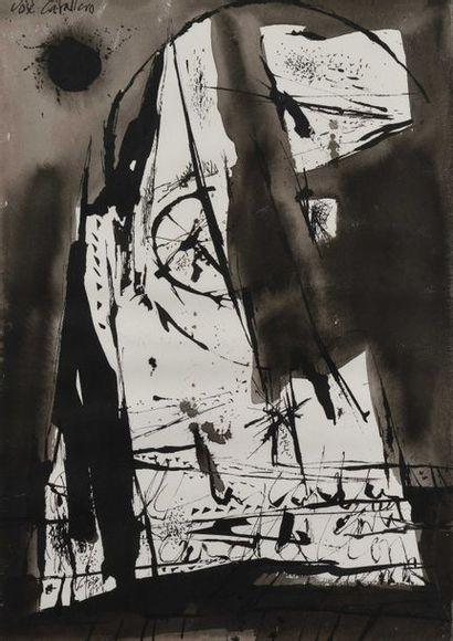 49 José CABALLERO (1916-1991) Pour llanto...