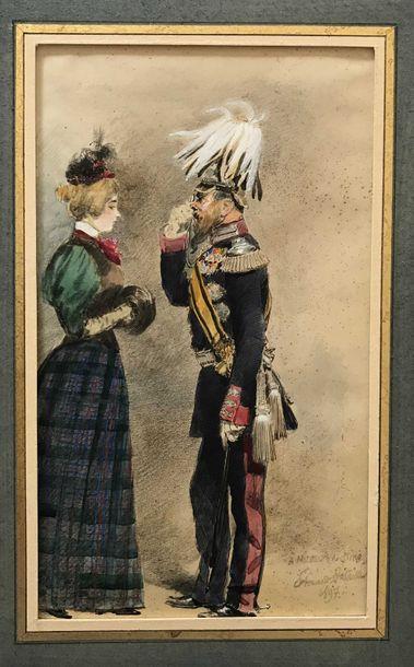 8 Edouard DETAILLE (Paris, 1848-1912) La...
