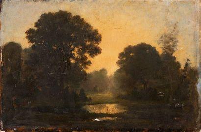 Louis CABAT (1812-1893) attribué à