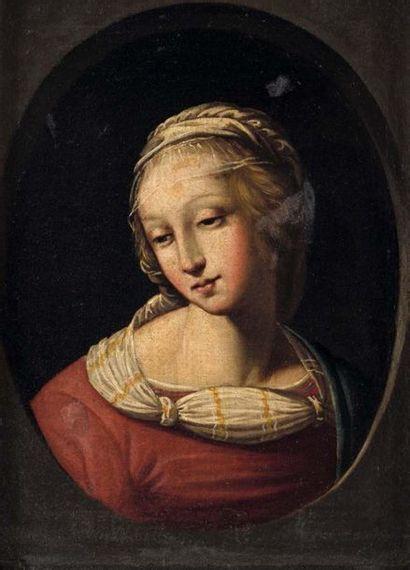 École italienne du XVIIe siècle, d'après Raphaël (Urbino, 1483- Rome, 1520)?