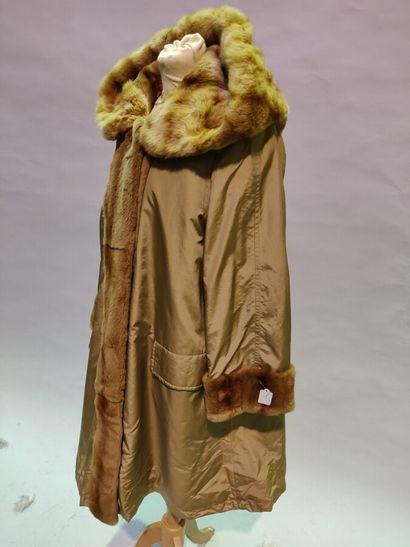 *Francis GERARD  Pelisse reversible en nylon...