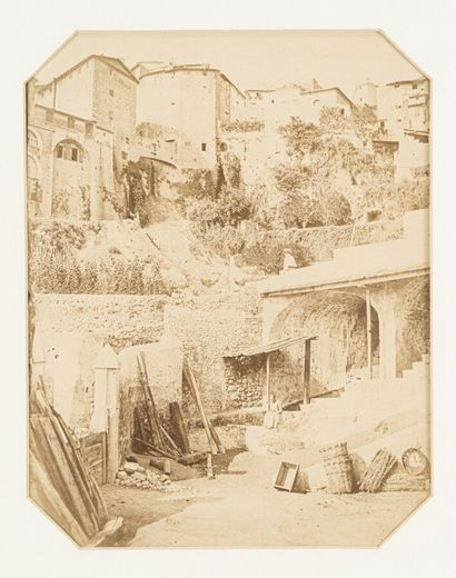 Charles NEGRE (1820-1880)  Grasse, moulin...