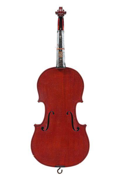 Violon fait par le maître luthier Paul Blanchard...