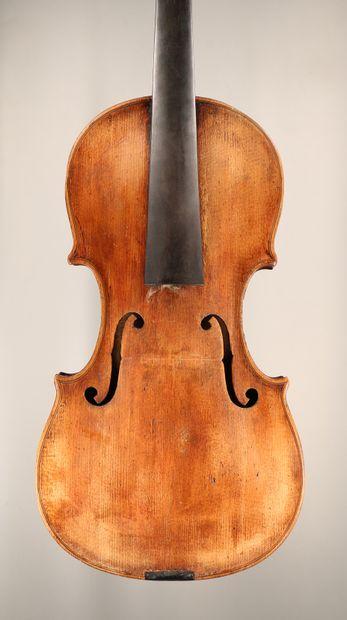 Violon allemand 19 ème dans l'inspiration...