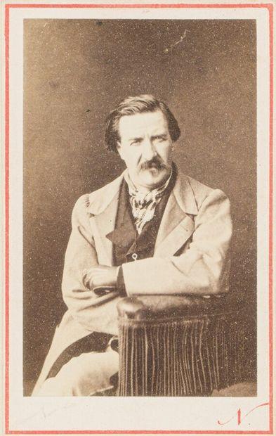 Atelier NADAR  Portrait de l'écrivain Champfleury...