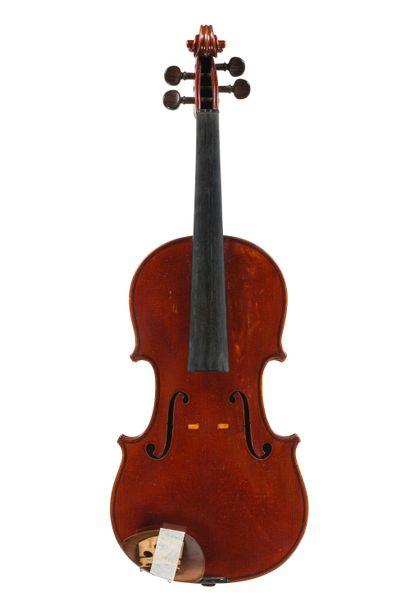 Intéressant violon fait par L.F Billotet,...