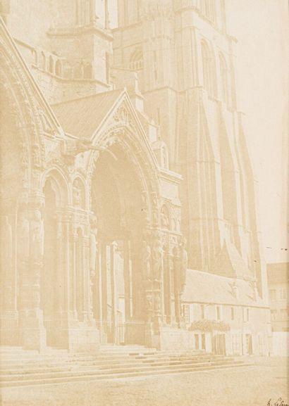 Henri LE SECQ (1818-1882)  Porche nord de...