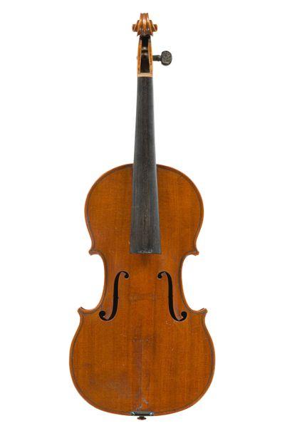 Très rare et très intéressant violon fait...