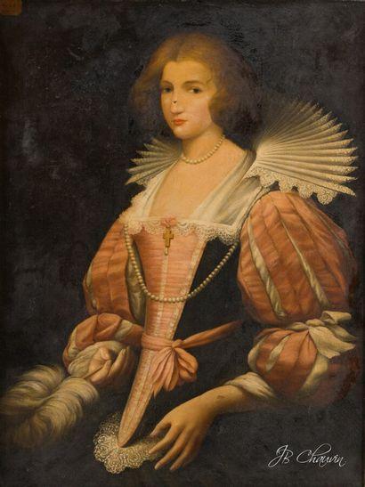 Dans le goût de l'école flamande du XVIIe...