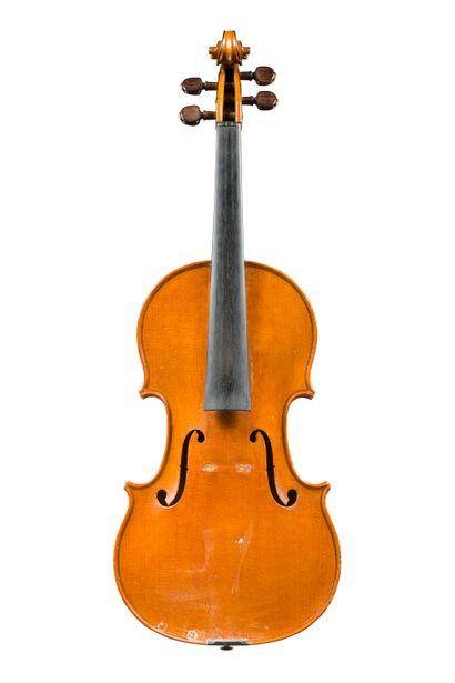 48. Intéressant violon français fait par...