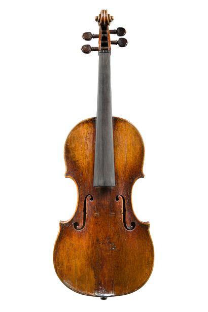 14. Violon autrichien portant étiquette Joannes...