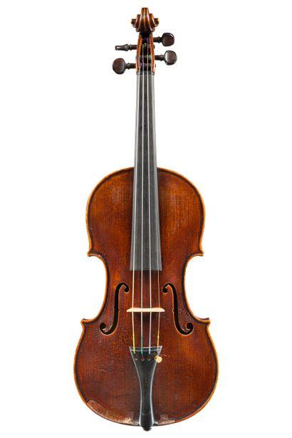 35. Violon fait par Charles Enel à Paris...