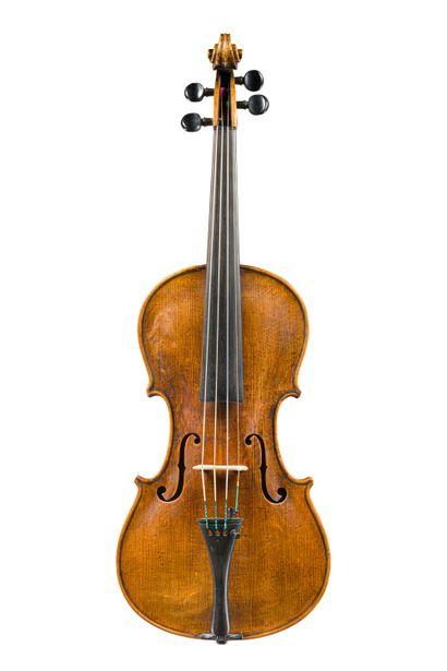 43. Joli violon allemand début 20ème portant...