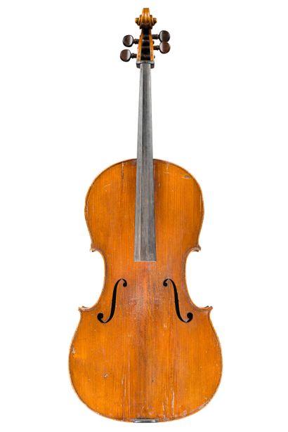 7. Violoncelle travail de Mirecourt première...