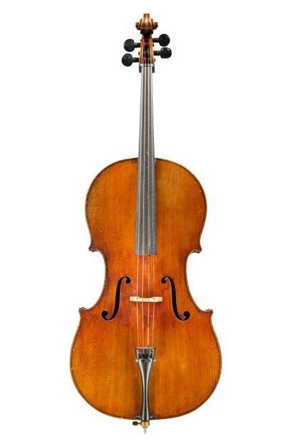 49. Violoncelle ¾ fait à Mirecourt vers 1920/30....