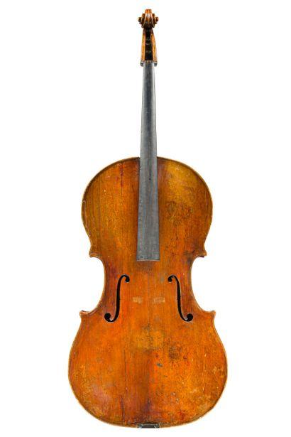 46. Rare et très intéressant violoncelle...
