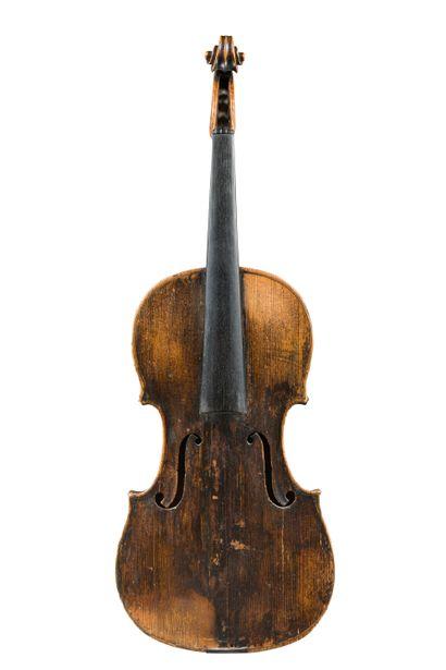 39. Violon français 18ème fait par L.Falaise...
