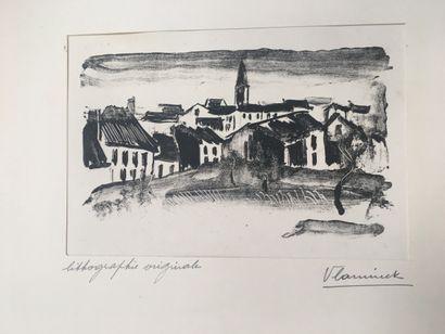 Maurice de VLAMINCK (1876-1958)  Beaumont/Oise...
