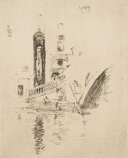 80. James Abott Mac Neill WHISTLER (1834-1903)...