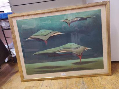 Félix LABISSE (1905-1982)  Artifiction  Lithographie...