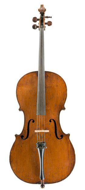 Interessant et rare violoncelle français...
