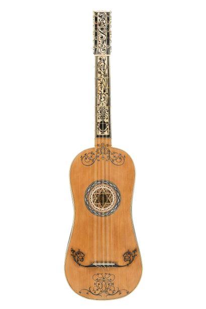 Guitare attribuée à Jacob Stadler, Naples...