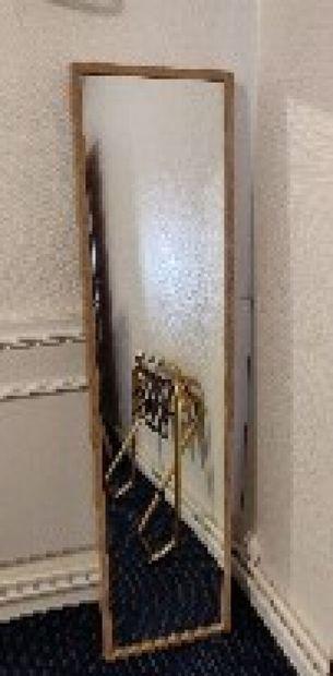 Trois miroirs rectangulaires façon bois...