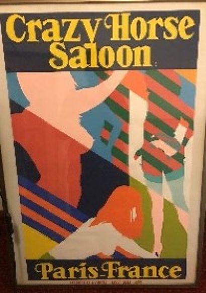 Affiche encadrée «CRAZY HORSE»  83,5 x...