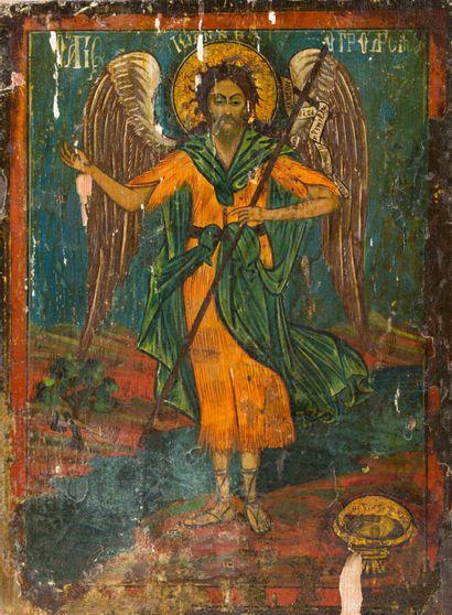 Saint Jean le Précurseur  Icône originaire...
