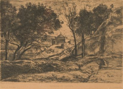 Camille COROT (1796 - 1875)  Souvenir de...