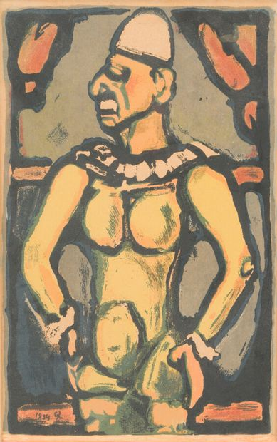 Georges ROUAULT (1871 - 1958)  Tristes os....