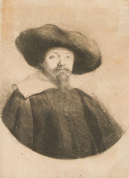 EMBRANDT VAN RIJN (1606-1669)  Manasseh Ben...