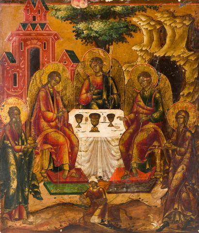La Trinité de l'Ancien Testament  Russie,...