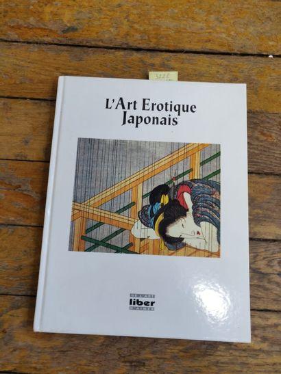 1 vol relié, L'art érotique japonais, 19...