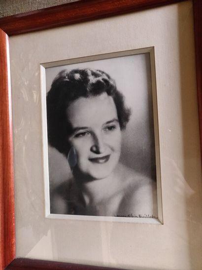 Laure ALBIN-GUILLOT  Portrait de femme  Deux...