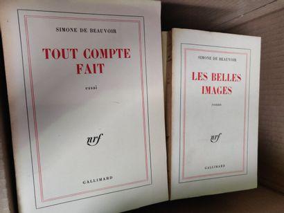 Lot de livres brochés NRF